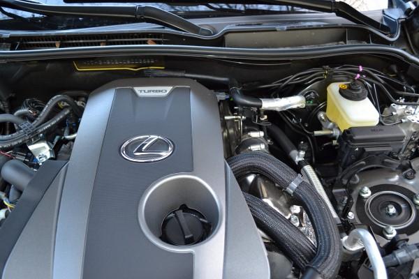 Турбированный двигатель.