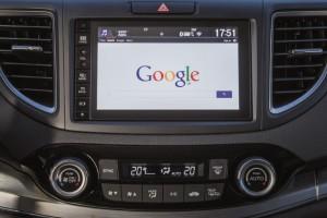 Экран Honda CV-R.