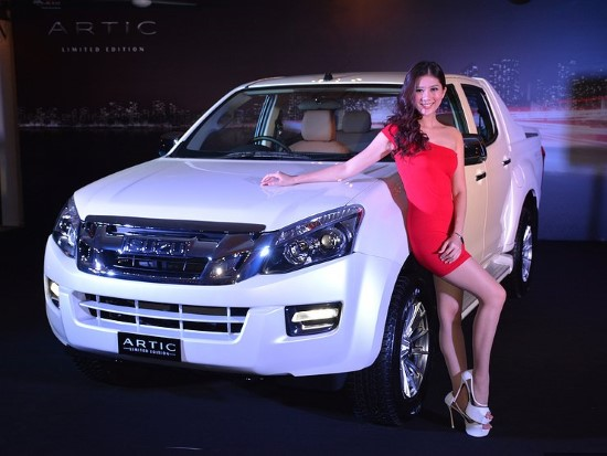 Модификация Isuzu D-Max Arctic Trucks AT35.