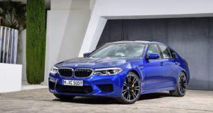 Новый BMW M5.