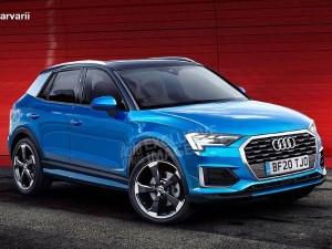 Фото модели Audi Q1.
