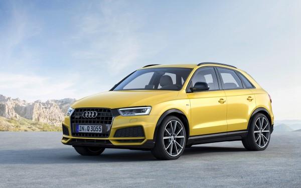 Фото одной из версий обновленного Audi Q3.