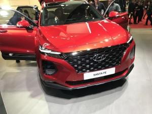 Премьера нового Hyundai Santa Fe в Женеве.