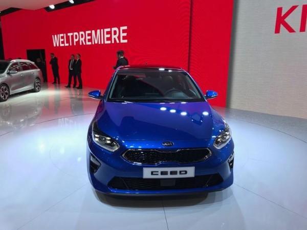 Премьера нового Kia Ceed в Женеве.