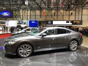 Премьера нового Mazda6 в Женеве.