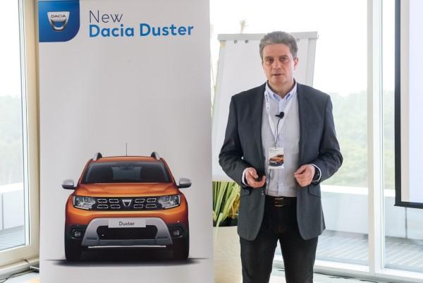 Презентация DACIA DUSTER второго поколения.