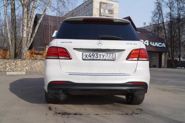 Фото Mercedes-AMG GLE 43 4matic SUV - вид сзади.