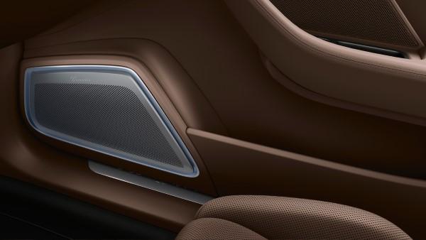 Элемент интерьера Porsche Panamera Turbo Sport Turismo.