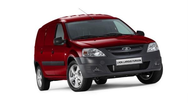 Lada Largus фургон может быть и такого цвета.