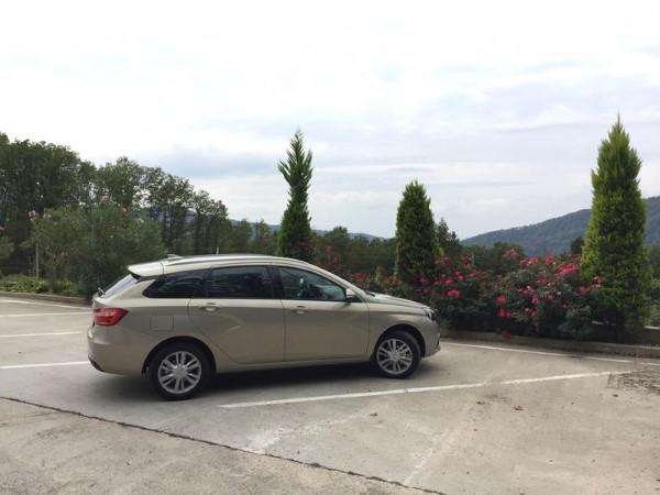 Lada Vesta SW - автомобиль семейный.