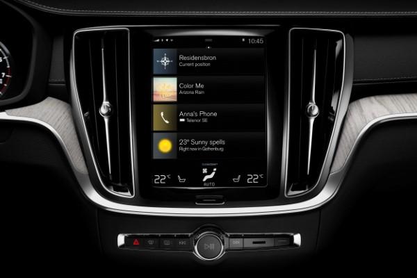 Фото Volvo XC60 - элементы управления.