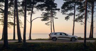 Фото Volvo XC60 - вид сбоку.