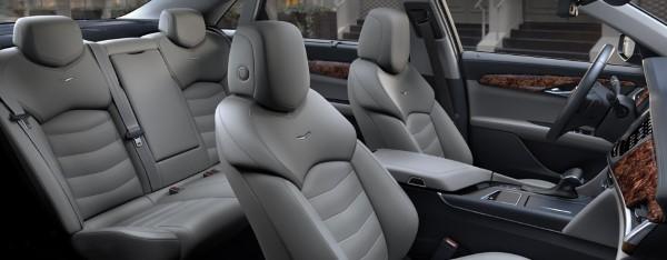 Фото Cadillac CT6 - вид на сиденья.