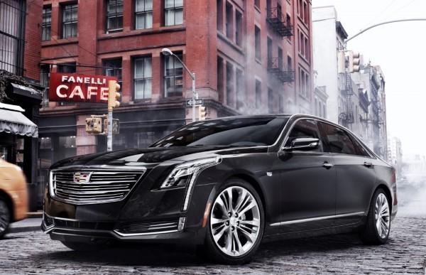 Фото Cadillac CT6 - вид на автомобиль.