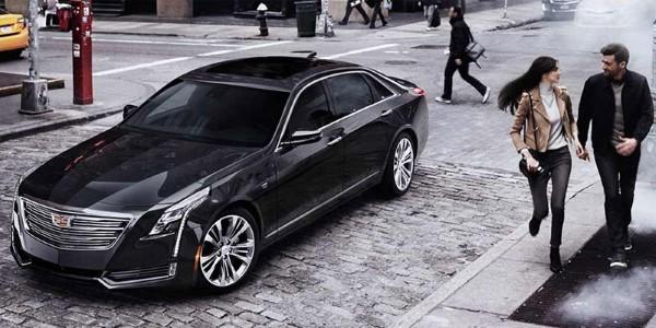 Фото Cadillac CT6 - общий вид.