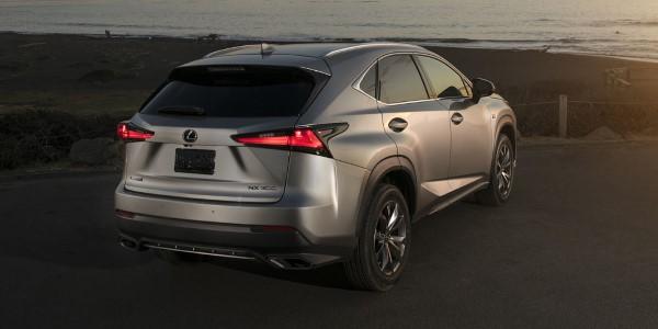 Фото Lexus NX300 - вид сзади.