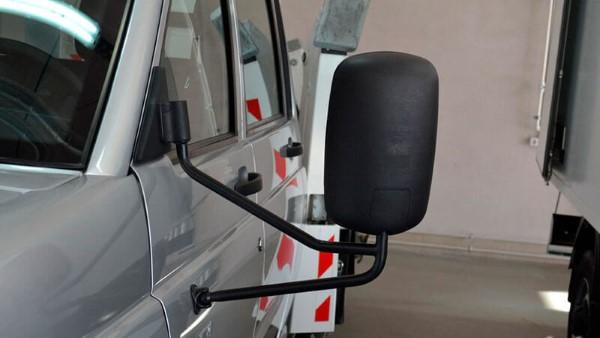Фото бокового зеркала УАЗ Профи.