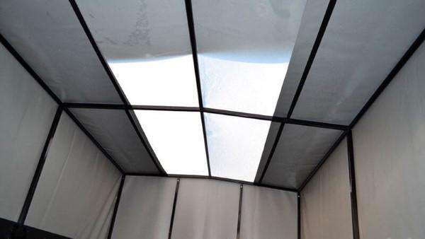 Фото потолочной части тента УАЗ Профи.