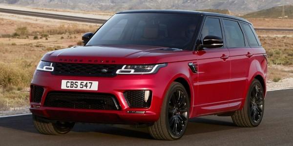 Фото Range Rover Sport - вид спереди.