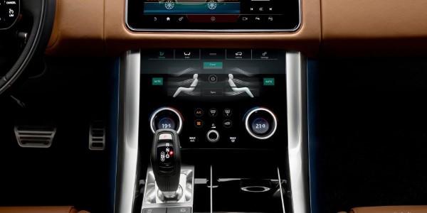 Фото Range Rover Sport - вид на центральный тоннель.