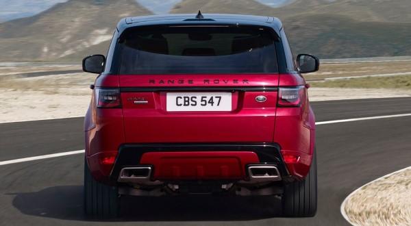Фото Range Rover Sport - вид сзади.