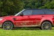Фото Range Rover Sport - вид сбоку.