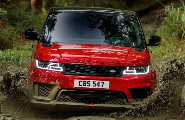 Премиальный внедорожник Range Rover Sport .