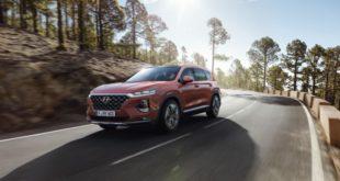 Внедорожник Hyundai Santa Fe в новом четвертом поколении.