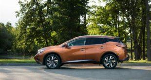 Фото Nissan Murano - вид сбоку.